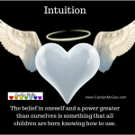 The belief in oneself and a power greater than ourselves is something that all children are born knowing how to use.